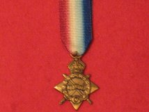 MINIATURE 1914 1915 STAR MEDAL