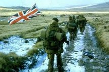 MILITARY HISTORY - FALKLAND ISLANDS SOUTH ATLANTIC WAR 1982
