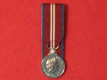 MINIATURE COURT MOUNTED QUEENS DIAMOND JUBILEE MEDAL 2012