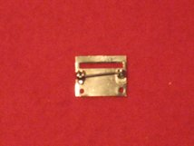 MINIATURE 1 SPACE MEDAL BROOCH BAR