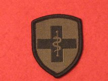 MEDIC TRAINED BADGE OLIVE GREEN