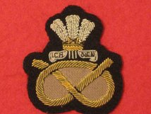 STAFFORDSHIRE REGIMENT OFFICERS BERET BADGE