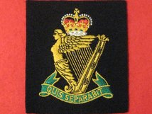 ROYAL IRISH REGIMENT BLAZER BADGE