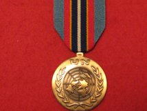 FULL SIZE UNITED NATIONS CAMBODIA MEDAL UNMIC MEDAL