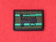 TACTICAL RECOGNITION FLASH BADGE ROYAL ENGINEERS 45TH SQN TRAIN TRF BADGE