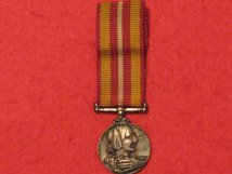 MINIATURE VOLUNTARY MEDICAL SERVICE MEDAL CONTEMPORARY LOOSE MOUNTED MEDAL