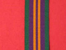 FULL SIZE ACCUMULATED CAMPAIGN SERVICE MEDAL POST 2011 RIBBON