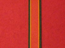 MINIATURE AFRICA SERVICE MEDAL 1939 1945 MEDAL RIBBON