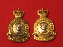 ARMY CATERING CORPS ACC MILITARY COLLAR BADGES