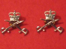 ARMY PHYSICAL TRAINING CORPS APTC MILITARY COLLAR BADGES
