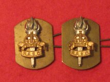ROYAL ARMY EDUCATION CORPS RAEC REGIMENT MILITARY COLLAR BADGES O/R.