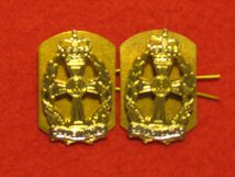 QUEENS ALEXANDRAS ROYAL ARMY NURSING CORPS QARANC REGIMENT MILITARY COLLAR BADGES