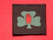 TACTICAL RECOGNITION FLASH BADGE 107 ULSTER REGIMENT TRF BADGE