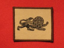 TACTICAL RECOGNITION FLASH BADGE DUKE OF LANCASTERS REGIMENT LION TRF BADGE