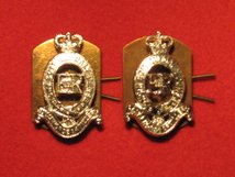 ROYAL HORSE ARTILLERY RHA MILITARY COLLAR BADGES