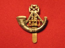KINGS SHROPSHIRE LIGHT INFANTRY CAP BADGE