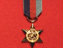 MINIATURE 1939 1945 STAR MEDAL