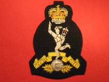 ROYAL SIGNALS BULLION WIRE BLAZER BADGE