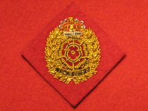 DUKE OF LANCASTERS OFFICERS BERET CAP BADGE